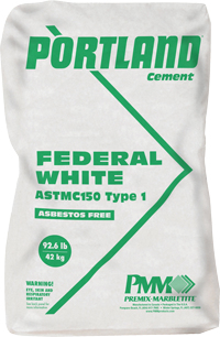 084000 Federal White Cement